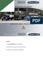 6 Sistemas de Seguridad Freghtiliner Mercedes Benz