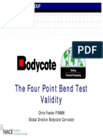 Appendix F08 the Four Point Bend Test