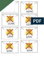 Plantilla Blucher España/ templates for Blucher spanish army.
