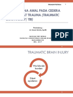 Tatalaksana Awal Cedera Kepala