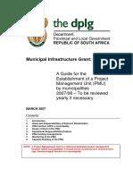 PMU Guideline March 2007
