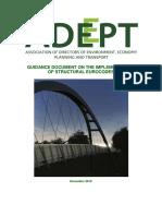 ADEPT Eurocodes Guidance v1