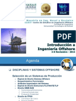 Disciplinas Sistemas Offshore