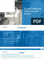 Task 2 Sample Essays