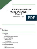 02 - Bloque I - Tema 1 - Introduccion La WWW