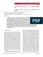 Implications of Immune Dysfunction on Endometriosis Associated Infertility