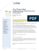 44 - The Thrive Diet