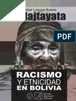 Racismo y Etnicidad en Bolivia