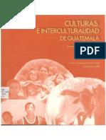 Culturas e Interculturalidad en Guatemala