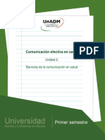 Nces_u2 Barreras de Comunicación en Salud