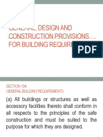 Building Requirements
