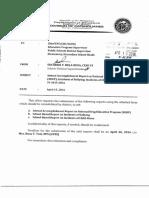 Annual Accomplishment Rep on NDEP Sy 2015 16