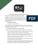 Acta Consejo Ordinario Junio FEUC 2010
