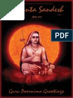 Vedanta Sandesh - July 2017