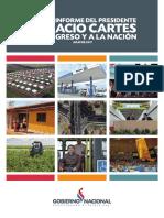 Informe de gestión del presidente Horacio Cartes
