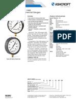 Datasheet Commercial Gauge 1000