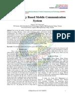 Green Energy Based Mobile Communication