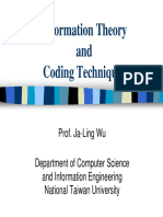 Information Theory Introduction