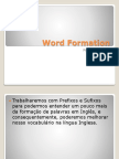 Word Formation - Prefix and Sufix