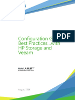 Veeam Configuration Guide Best Practices Hp Storage