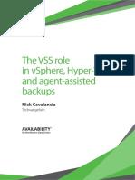 Vss Backup Vmware Vsphere Microsoft Hyper V