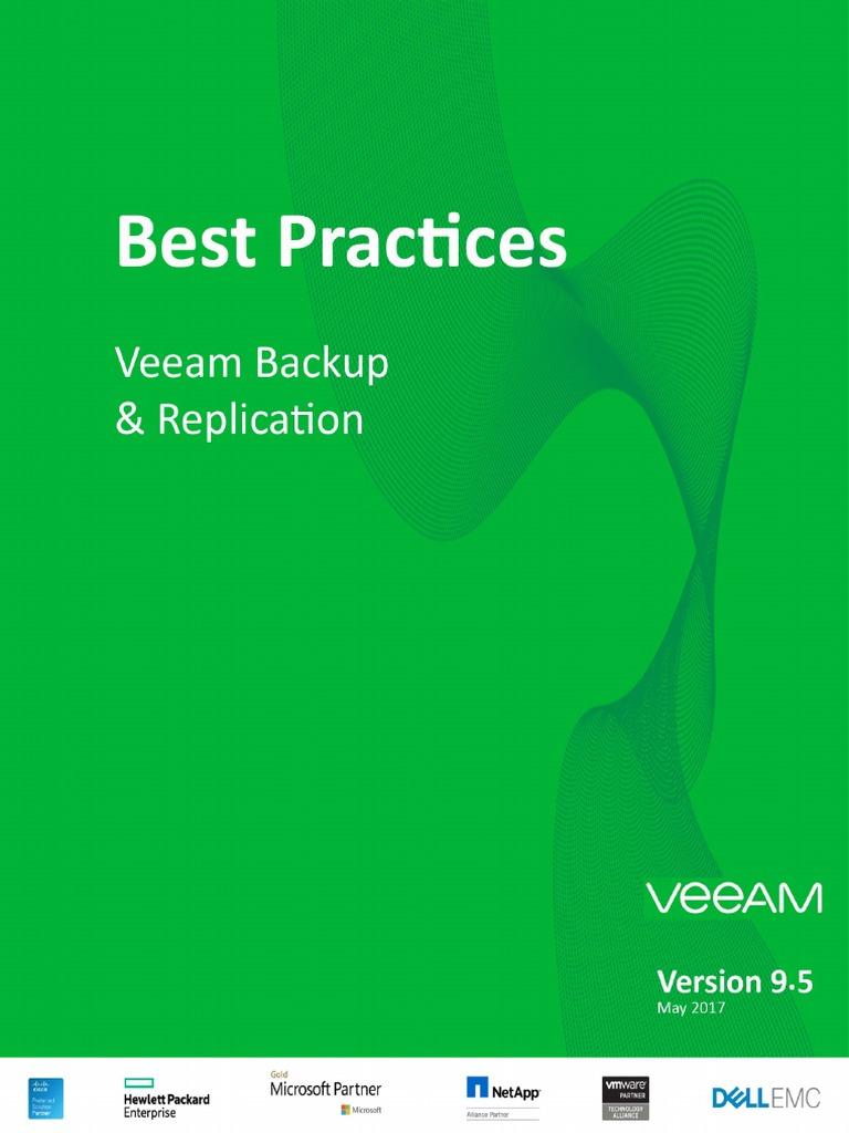 Veeam Backup Replication Best Practices | Backup | Microsoft
