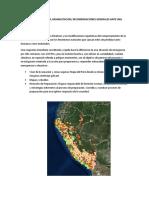 prevención de desastre naturales en el peru