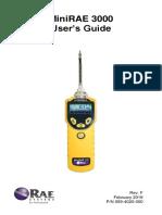 Manual Minirae3000 Userguide