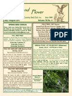 Upland Plover July-August 2017