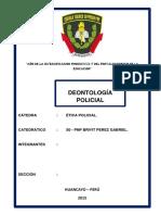 Deontologia Policial Monografia
