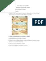 Examen Egipto 1º ESO