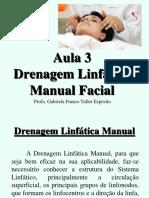 Aula 3 Drenagem Linfática Facial