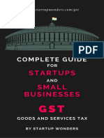 GST - Complete Guide for Startups and SME