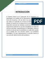 Distribuciones de Probabilidad Para El Ajuste de Información Hidrológica