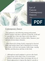Contemporary Dancers.pptx