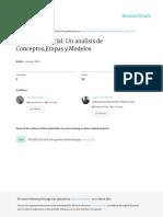 29. 2011. Art. Innovacion Social Analisis de Etapas y Conceptos. CUMEX