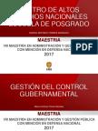 Gestión Del Control Gubernamental 2017 - III - Riesgos