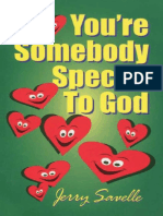 You'Re Somebody Special to God - Jerry Savelle