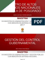 Gestión Del Control Gubernamental 2017