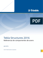 Referencia de Componentes de Acero