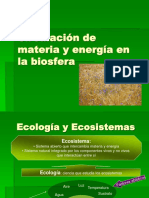 Circulacion de Materia y Energia en La Biosfera 1
