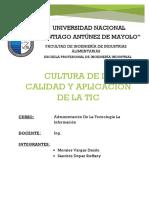 Exposicion_cultura de La Calidad y Aplicación de La Tic 4