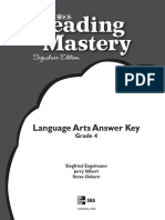 Answer Key Language Arts