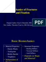 Biomechanics of Fracture & Fixation