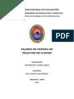Examen sistemas de telecomunicaciones