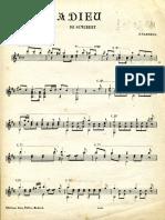 Adieu (Schubert Tarrega)