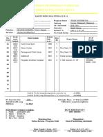 Format KRS Universitas Palangka Raya