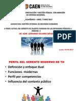 Semana 3 de g.i. Recursos Humanos - Maestria Adm. y Gestión Pública - Caen - Abril y Junio 2017. Dr. l.velarde d.