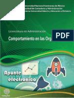 Comportamiento Organizaciones PSICOLOGIA