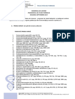 Tematica Licenta Farmacie 2017-1